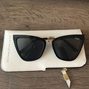 Brand New Quay x Jlo Reina Cat Eye Sunglasses